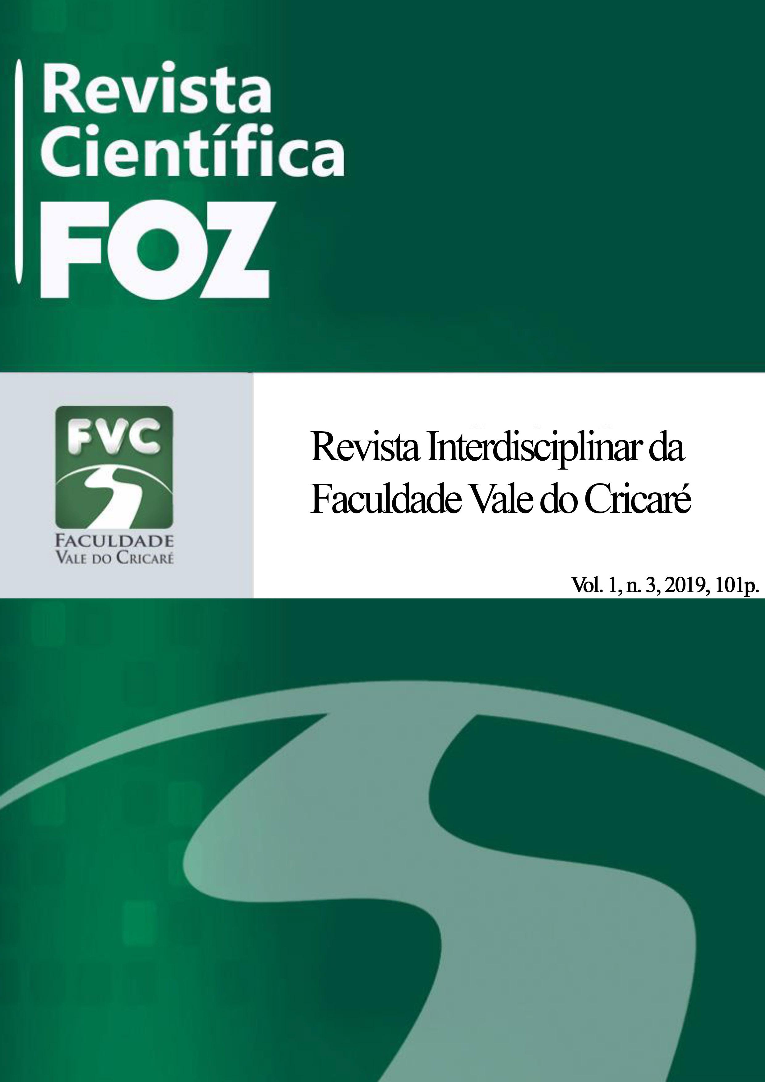 Visualizar v. 1 n. 3 (2019): Revista Científica FOZ